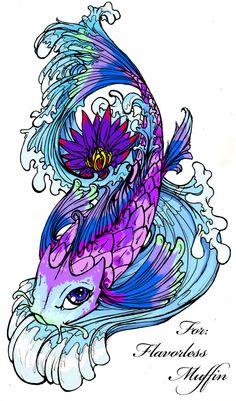 Koi Fish Tattoo Drawings | coy-fish-tattoo-designs-koi-fish-tattoo-pictures-tattoos-zimbio-30393 ...