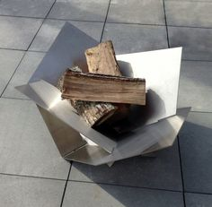 Moderne en acier inoxydable Fire Pit par LethalFabrication sur Etsy