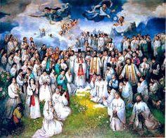 St. Andrew Kim Taegon and St. Paul Chong Hasang and their companions, Korean Martyrs http://catholicfire.blogspot.com/2014/09/st-andrew-kim-taegon-and-st-paul-chong.html