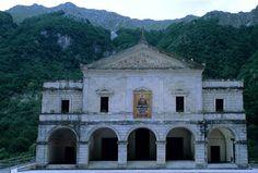 Sanctuary of the Madonna di Canneto, Settefrati (FR) - National Park Abruzzo, Lazio and Molise.