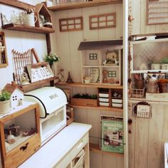 sweet little zakka style kitchen.