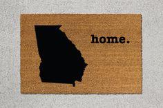 Georgia Home Door Mat - $39