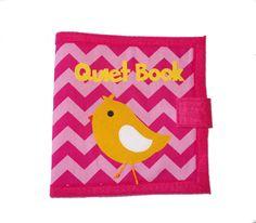 Quiet Book Busy Book 12 Pages por QuietTimeDesigns en Etsy