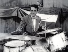 Gene Krupa - the man who inspired Keith Moon I know before doo wop and my time Great Drummer