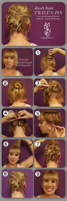 Twist N Pin Hair Tutorial