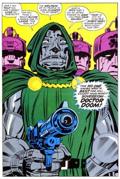 Mighty Sovereign Doctor Doom - Jack Kirby