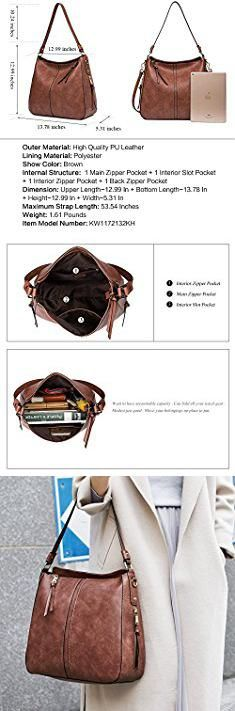 Designer Handbags For Sale. Clearance Sale CALLAGHAN Designer PU leather Handbag Purse Ladies Hobo Shoulder Tote Bag for Women's Top Handle Bag Large Brown.  #designer #handbags #for #sale #designerhandbags #handbagsfor #forsale