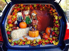 Trunk or treat - to remember for next year