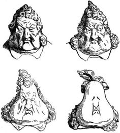Daumier - part of a show of 19th century French political caricatures at the Cantor Museum/Stanford.