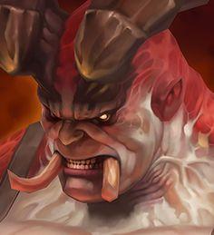 3D Lowpoly_The Butcher (Diablo III), Joker Y on ArtStation at https://www.artstation.com/artwork/bdYYr