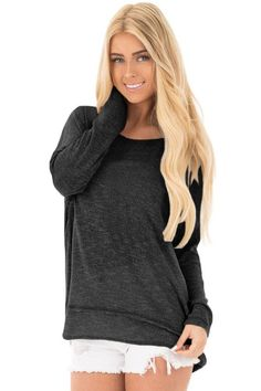 Now Available on chicloth.com: Chicloth Black Ba.... Check it out here:  http://chicloth.com/products/chicloth-black-backless-twist-knit-long-sleeve-dolman-top?utm_campaign=social_autopilot&utm_source=pin&utm_medium=pin