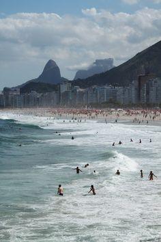 Leme Beach, Rio de Janeiro, Brasil