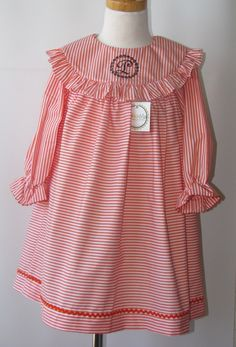 Thanksgiving dresses for toddler, Float Monogrammed dresses for girls, baby girl, infant FREE Personalization from sz 3m up to 5T. $34.00, via Etsy.