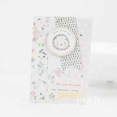 Create a variety of baby shower cards to have on hand. By @createoften for @cratepaper