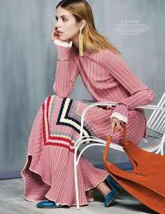 """Fashion's New Mood"" Harper's Bazaar Singapore"