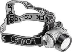 Black Canyon luz frontal con inclinación ajustable 21 LED, negro, BC7004 negro