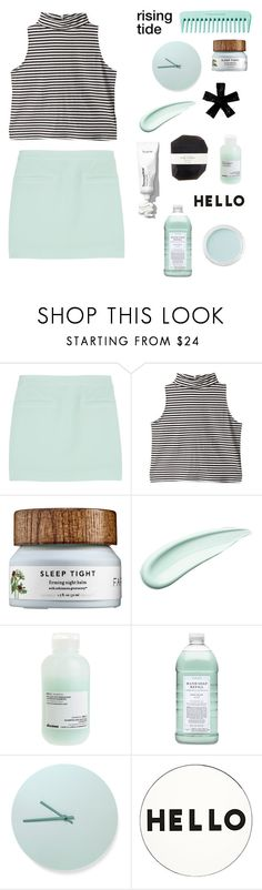 """""""l y d i a"""" by thunderingwaves ❤ liked on Polyvore featuring T By Alexander Wang, Koh Gen Do, Davines, Williams-Sonoma, Menu, Bare Escentuals, Lisa Perry and Pelle"""