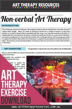 Art Therapy for Non-verbal Client