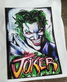 "New!!!! The Joker""white UnisexTee Shirt REGULAR FIT Front Print #fashion #clothing #shoes #accessories #unisexclothingshoesaccs #unisexadultclothing (ebay link) 3d T Shirts, Funny Tee Shirts, T Shirts For Women, Slush Puppy, Harajuku, Joker, Unisex, Fit, Clothing"