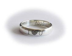 Strieborná obrúčka  R131 Engraved Jewelry, Silver Rings, Wedding Rings, Jewellery, Engagement Rings, Enagement Rings, Jewels, Schmuck, Diamond Engagement Rings
