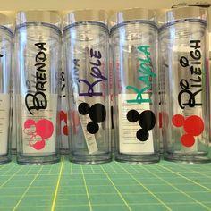 Disney fun! Choose Mickey or Minnie as well as colors. Disney wedding - DisBride