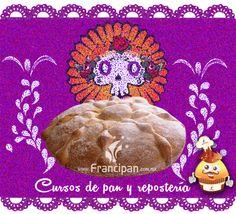 Ilustración relacionada a esta temporada de día de muertos y a su vez para promocionar los cursos de pan y repostería.