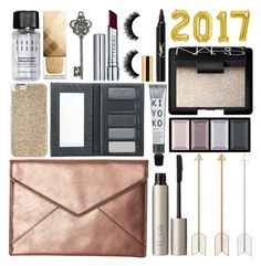 """""""New Year's Eve"""" by annaclaraalvez ❤ liked on Polyvore featuring Rebecca Minkoff, Ilia, Borghese, Michael Kors, Bobbi Brown Cosmetics, Clé de Peau Beauté, Graham & Brown, NARS Cosmetics, By Terry and Burberry"""