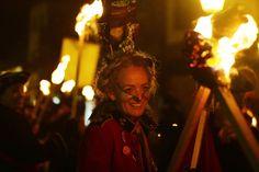 David Cameron Effigy Burned In Lewes For Bonfire Night, Alongside Blatter, Clarkson And The Bullingdon Pig