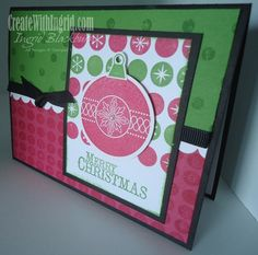 Stampin Up Chock Full of Cheer and Cheerful Christmas Wheel