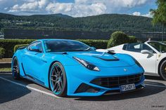 Novitec-Rosso Ferrari F12 N-LARGO at International Sport Car Festival 2016 in Austria