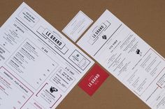Brasserie – Le Grand by Acid and Marble , via Behance