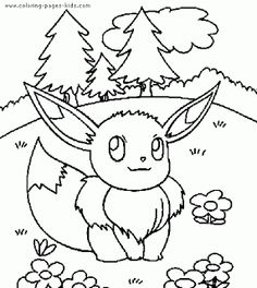 pokemon color page cartoon characters coloring pages coloring pages for kids thousands of free printable coloring pages for kids - Free Pokemon Printable Coloring Pages