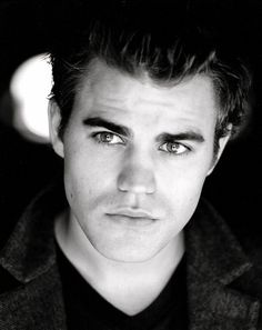Paul Wesley  I can't expect that I'm really nuts about   Vampire Diaries...  No reasons...boys so cute!
