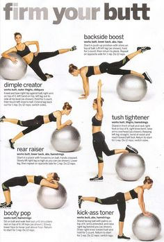 Dancer Body Workouts, Dancers Body, Weight Lifting Workouts, Gym Workouts, Ball Workouts, Health Benefits, Health Tips, Stability Ball Exercises, Core Stability