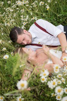 Natürliches Hochzeits-Shooting Blumenwiese, Dienheim, Rheinhessen