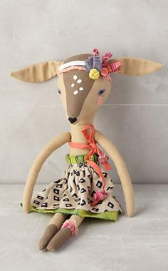 Fashionable Fauna Doll #anthroregistry