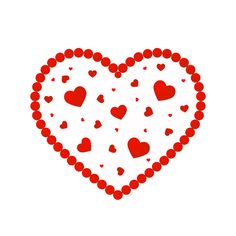 Home Care in Fairfax VA: For your Valentine, backpack or a necklace, these cute little hearts are so easy to do, you may not be able to stop the kids from making them!