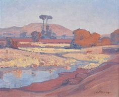 View Landscape with Jukskei river by Jacob Hendrik Pierneef on artnet. Browse upcoming and past auction lots by Jacob Hendrik Pierneef. African Paintings, Landscape Artist, Art For Art Sake, Painting Inspiration, Painting, Art, Pictures, Painting Projects, South Africa Art