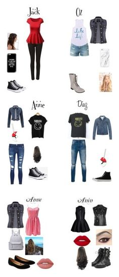 """""""collection #2"""" by alex-hayze on Polyvore featuring Witchery, Frame Denim, maurices, Converse, Reneeze, Casetify, REGALROSE, J Brand, Levi's and Acne Studios"""