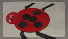 Toddler Craft: Ladybug.  Simple craft with mostly stuff you have in your craft bin.