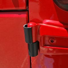 Bestop® Door Hinge Protectors for 88-up Jeep® Wrangler YJ, TJ, TJ Unlimited, JK & Wrangler Unlimited JK