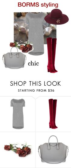 """chic"" by cat-line on Polyvore featuring mode, T By Alexander Wang, Aquazzura en Givenchy"