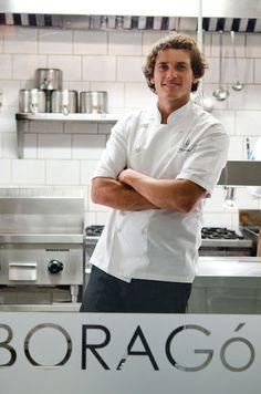 Rodolfo Guzman, head chef of Borago restaurant in Santiago, Chile