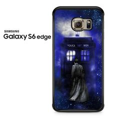 Bluetardis Tenth Doctor Dr Who In Space Samsung Galaxy S6 Edge Case