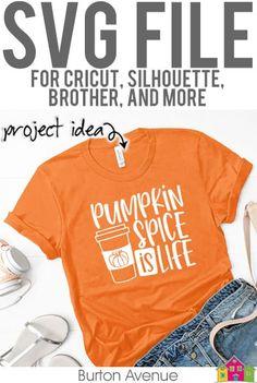 Pumpkin Spice is Life SVG File - Burton Avenue