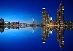 Rotterdam, Skyline, Architectuur