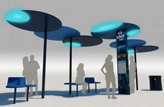 The Big Blue Bus Project Will Rebrand the City of Santa Monica #architecture trendhunter.com