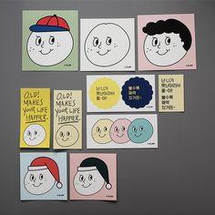 [오롤리데이] O,LD! 스티커팩 Cartoon Drawings, Easy Drawings, Earthy Color Palette, Korean Stationery, Book Logo, Vintage Cartoon, Cute Stickers, Sticker Design, Drawing S