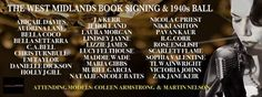 The West Midlands Valentines Book Signing & Ball! West Midlands, Book Signing, Raffle Prizes, Valentines, Author, Tours, Amp, Valentine's Day Diy, Valentines Day
