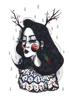 Quirky Illustration by Kathrin Honesta